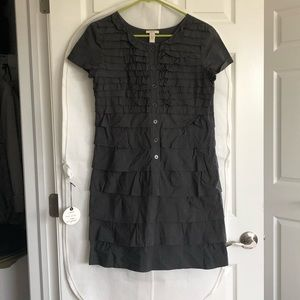 J.Crew Ruffled Short Sleeve Dress